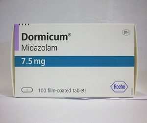 Buy Dormicum (Midazolam) 7.5mg