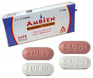 Ambien (Zolpidem Tartrate) 10mg